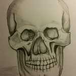 Day Four – I've Fallen In Love With Drawing Skulls.
